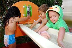Primetime - Experiências com água e areia estimulam o desenvolvimento sensorial
